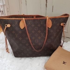 💥SALE Louis Vuitton monogram neverfull MM